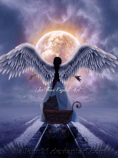 Watcher Angel by JiaJenn31