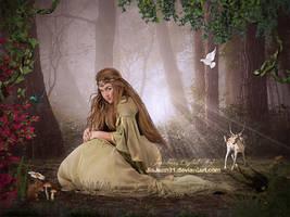 Forest queen by jiajenn