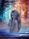 Blue Water Nymp