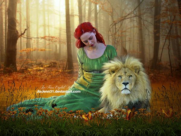 White Lion by jiajenn
