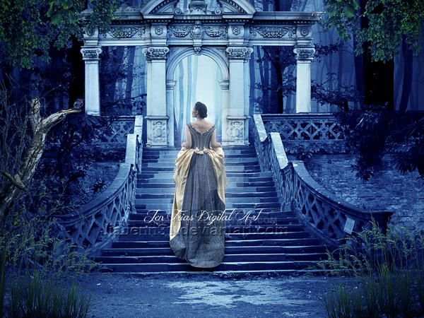 Princess Walk Evening by jiajenn