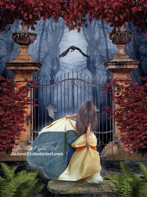 Infront my gate by jiajenn