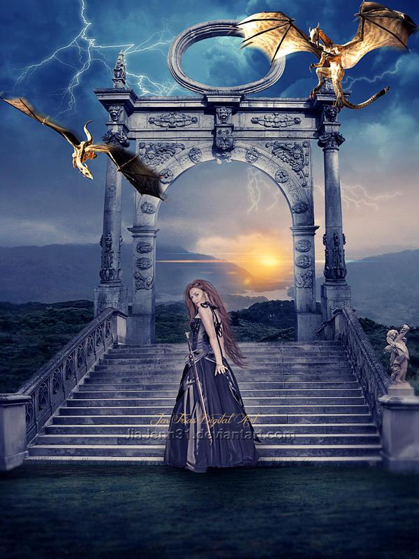 Warrior Woman by jiajenn