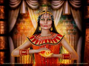 Egypt Girl by jiajenn