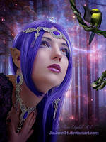 Elven Queen by jiajenn