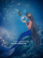Sweet mermaid by jiajenn