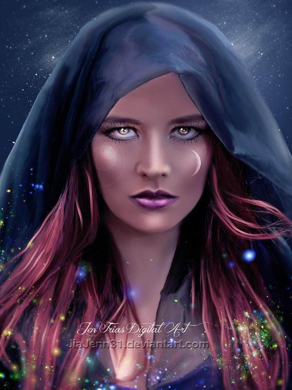 Mistery Mother Moon by JiaJenn31