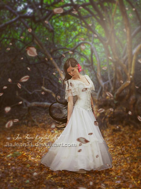 White Blossoms by JiaJenn31