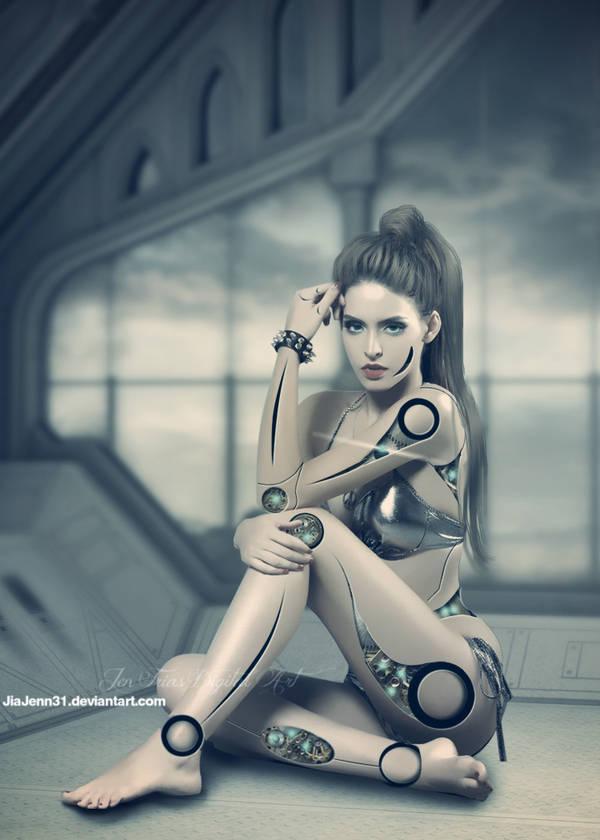 Cyborg five by jiajenn