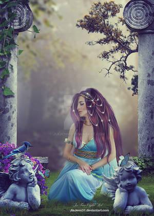 Greek Lady by jiajenn