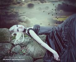 Laying in my dreams by jiajenn