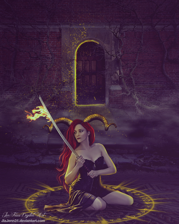 Dark princess by jiajenn