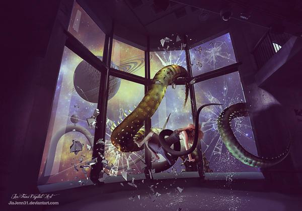 Observatory Alien by jiajenn