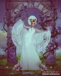 Secret garden, white angel