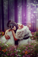 Sad Mask Girl by jiajenn