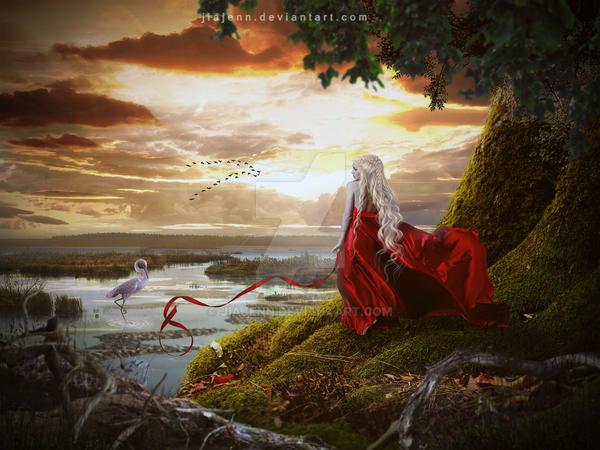 Sunset dream by jiajenn