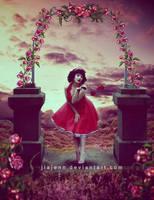 Rose Wishes by jiajenn