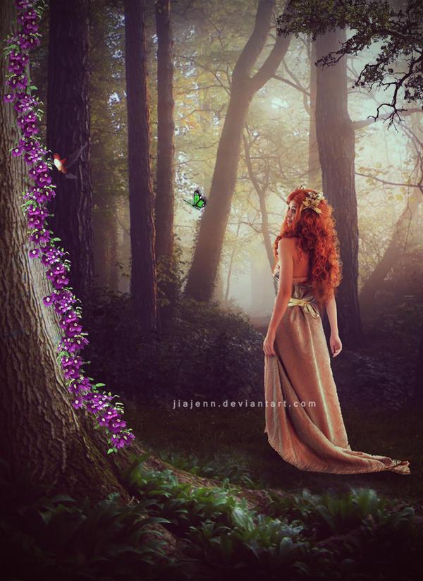 A walk in the garden by jiajenn