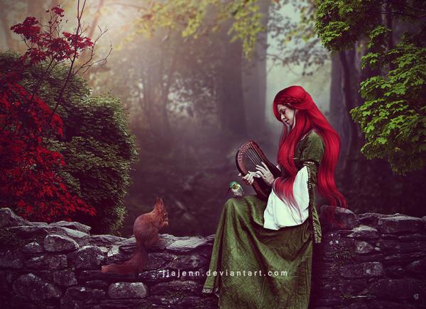 Sweet melody by jiajenn