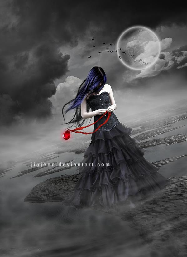 In my lonelyness by jiajenn