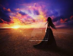 Beyond the sunset by jiajenn