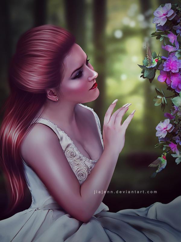 In the garden by jiajenn