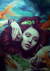 Mermaid tears by jiajenn
