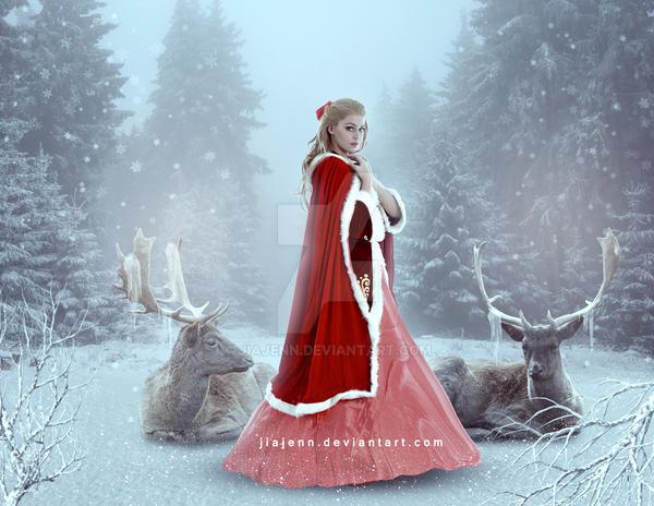 Queen of Winter by jiajenn