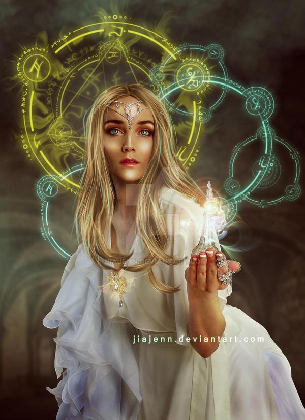 Galadriel Magic Bottle by jiajenn