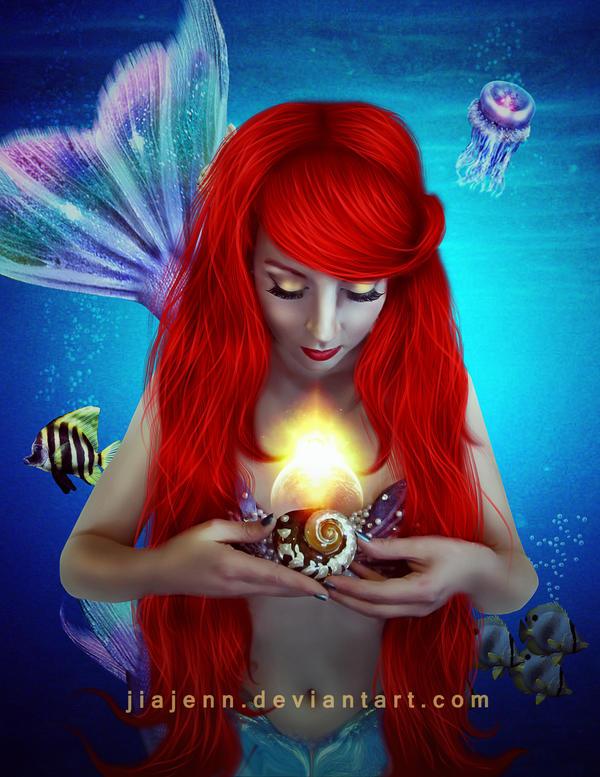 Ariel Mermaid 3