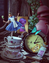 In Wonderland by jiajenn