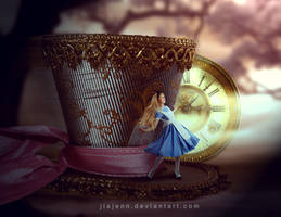 Traveling in Hat (Alice) by jiajenn