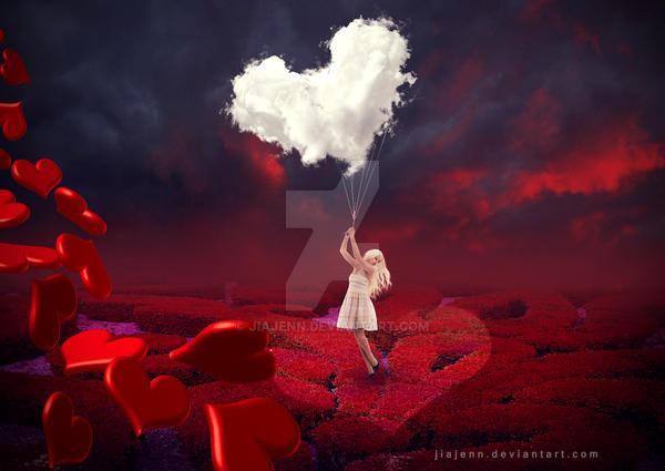 Heart Clouds by jiajenn