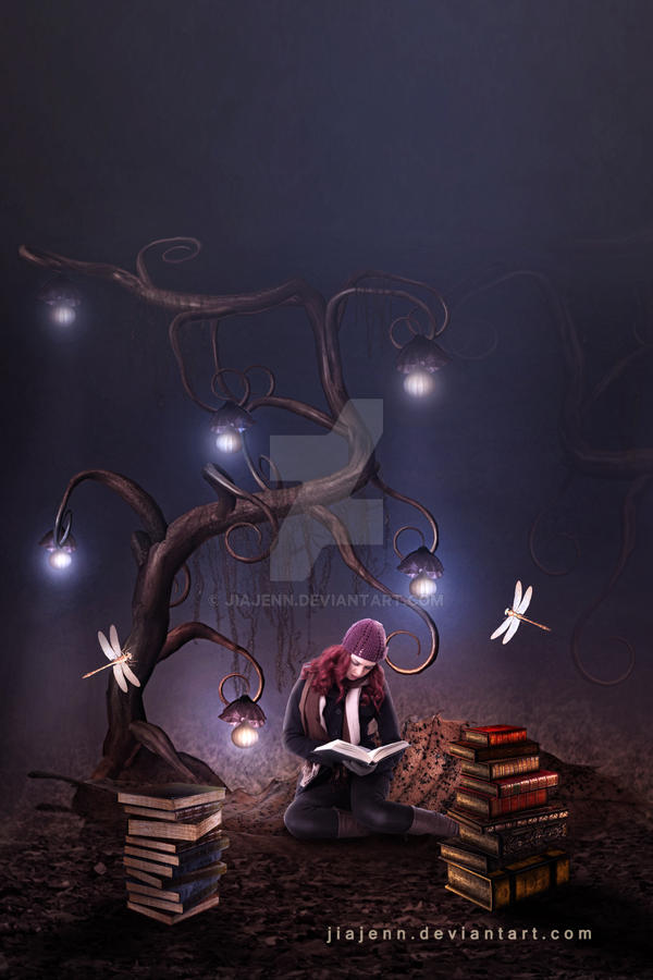 Imagination comes out books by jiajenn