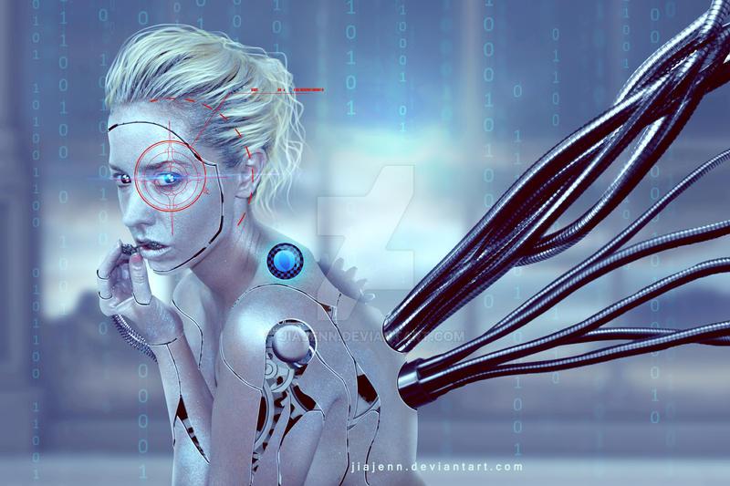 Silver Cyborg by jiajenn