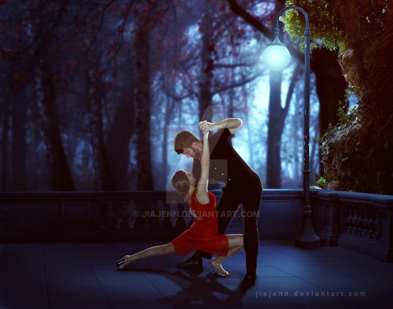 Balcony Last Tango by jiajenn