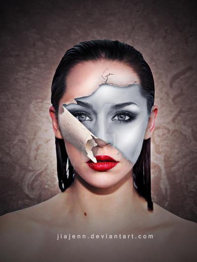 Peel Face by jiajenn