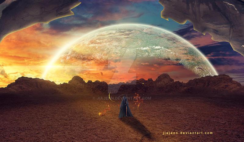 Dead desert by jiajenn