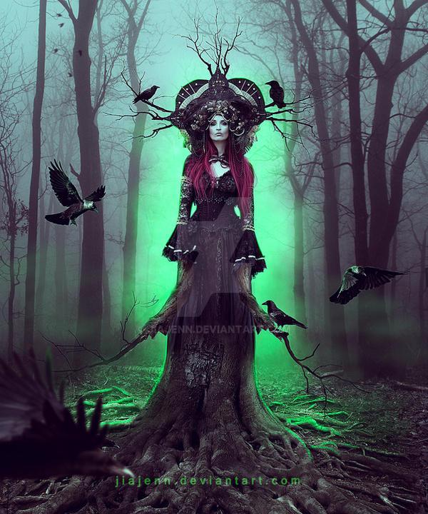 The Green Magic by jiajenn