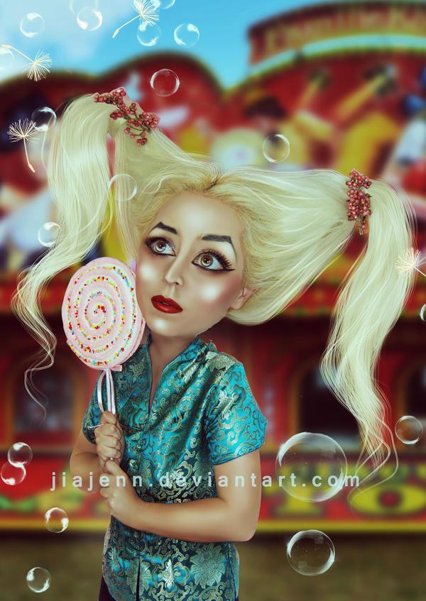 In the circus by jiajenn