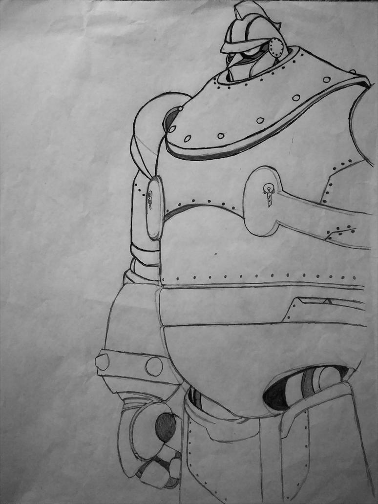 T28 (Sketch) by WolfXBlade