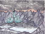 Minas Morgul painting by LePtitSuisse1912