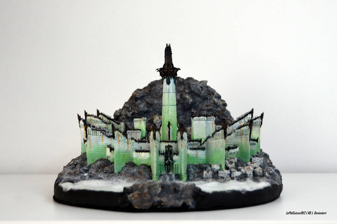 Minas Morgul The Dead City, Front View by LePtitSuisse1912