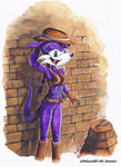 Cute Nic the Weasel, colored and modified by LePtitSuisse1912