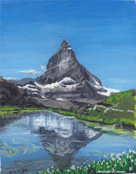 The Swiss lonely mountain, La montagne Solitaire
