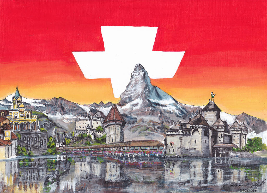 Bonne Fete la Suisse / Happy Swiss National day by LePtitSuisse1912