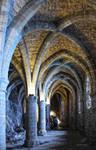 Les Caves du Chateau de Chillon by LePtitSuisse1912