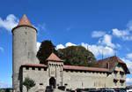 Chateau de Romont by LePtitSuisse1912
