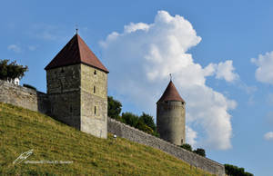 Les Deux Tours / The Two Towers by LePtitSuisse1912