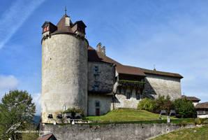 Le Donjon du Chateau de Gruyeres